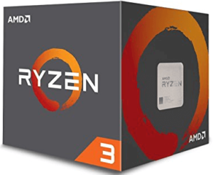 AMD Ryzen 3 1200 Desktop Processor with Wraith Stealth Cooler