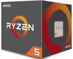 AMD Ryzen 5 1600 Processor with Wraith Spire Cooler