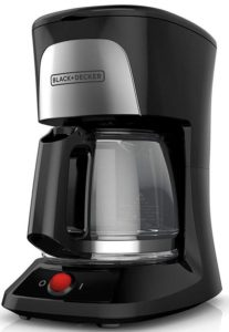 Black + Decker 5-Cup Coffeemaker with Duralife Glass Carafe