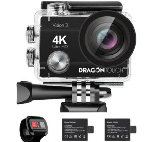 Dragon Touch 4K Action Camera with 16MP Sony Sensor