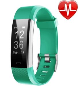 LETSCOM Fitness Tracker with Heart Rate Monitor for Multi-Sport Tracking