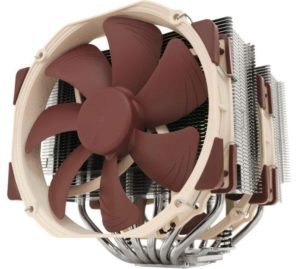 Noctua NH-D15 6 heat pipe with Dual NF-A15 140mm fans