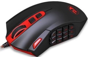 Redragon M901 Perdition MMO Gaming Mouse
