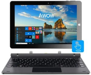 "Wecool 10"" 2-In-1 Windows 10 Laptop Tablet Touch Screen"