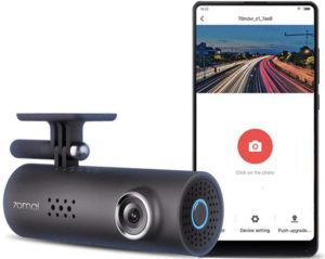 70mai Smart Dash Cam with Built-in WiFi