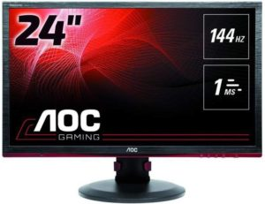 AOC G2460PF 24Inch Gaming Monitor with Adjustable Height