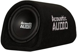 Acoustic Audio by Goldwood ACA8T Powered Amplified 8″ Car Subwoofer