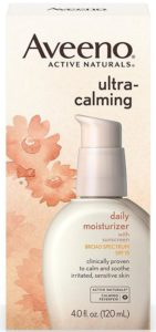 Aveeno Ultra-Calming Daily Moisturiser for Sensitive Skin with SPF 15