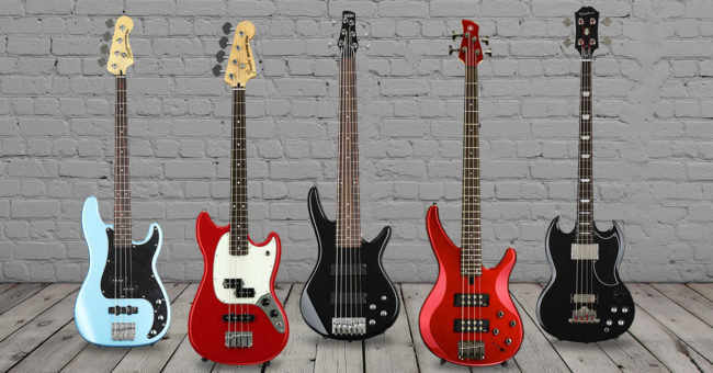 Best Cheap Bass Guitars