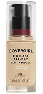 Covergil Outlast All-Day Stay Fabulous 3-in-1 Foundation