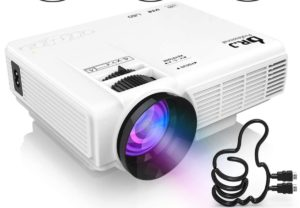 DR. J Professional 1080P [Bluetooth] Supported Mini Projector