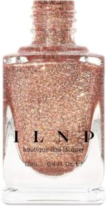 INLP Juliette Holographic Nail Polish (Rose Gold Finish)