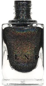 INLP Missed Calls Holographic Nail Polish, Black