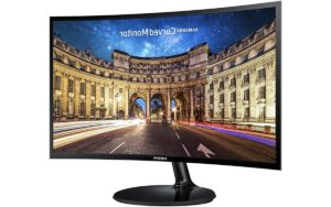 Samsung IT C24F390, Curved